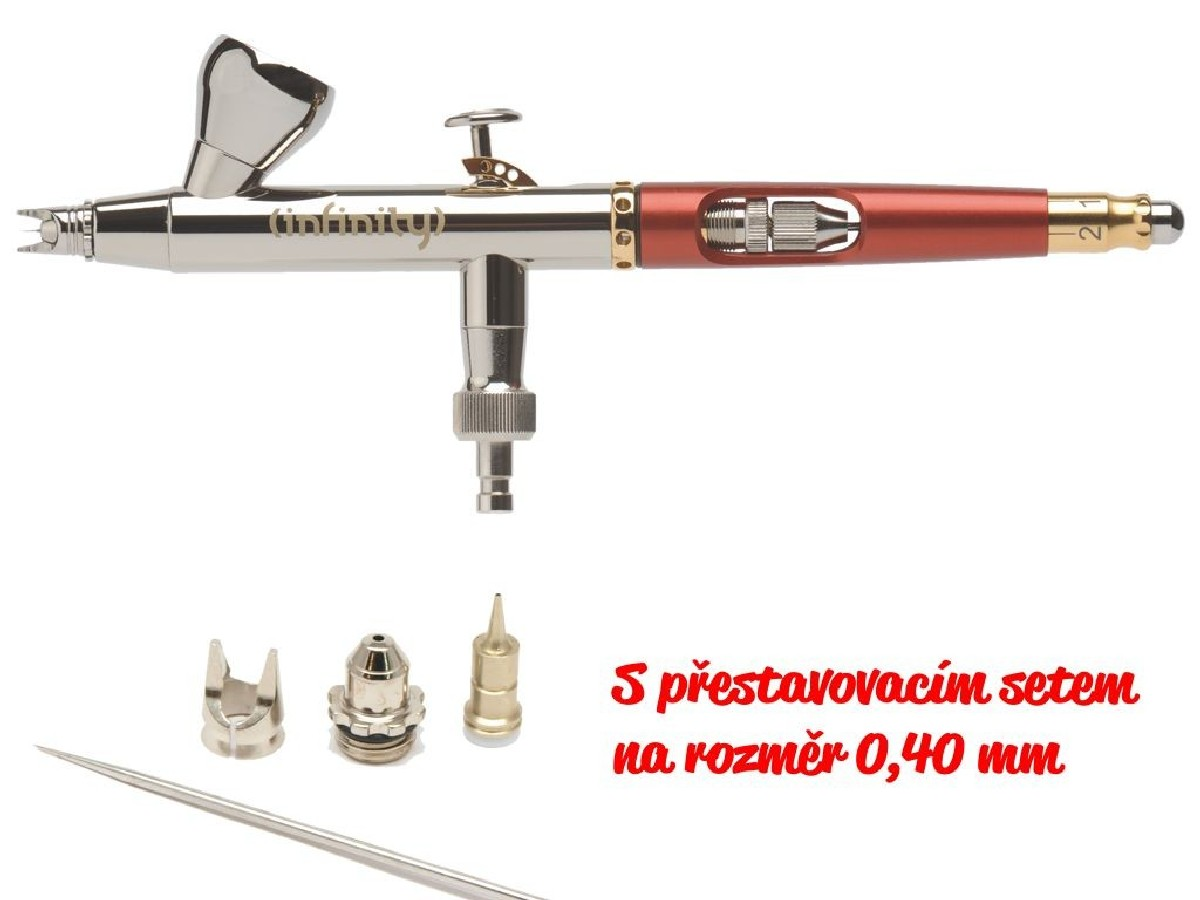 Airbrush pistole Infinity Two in One 0,15/0,40 mm 126543
