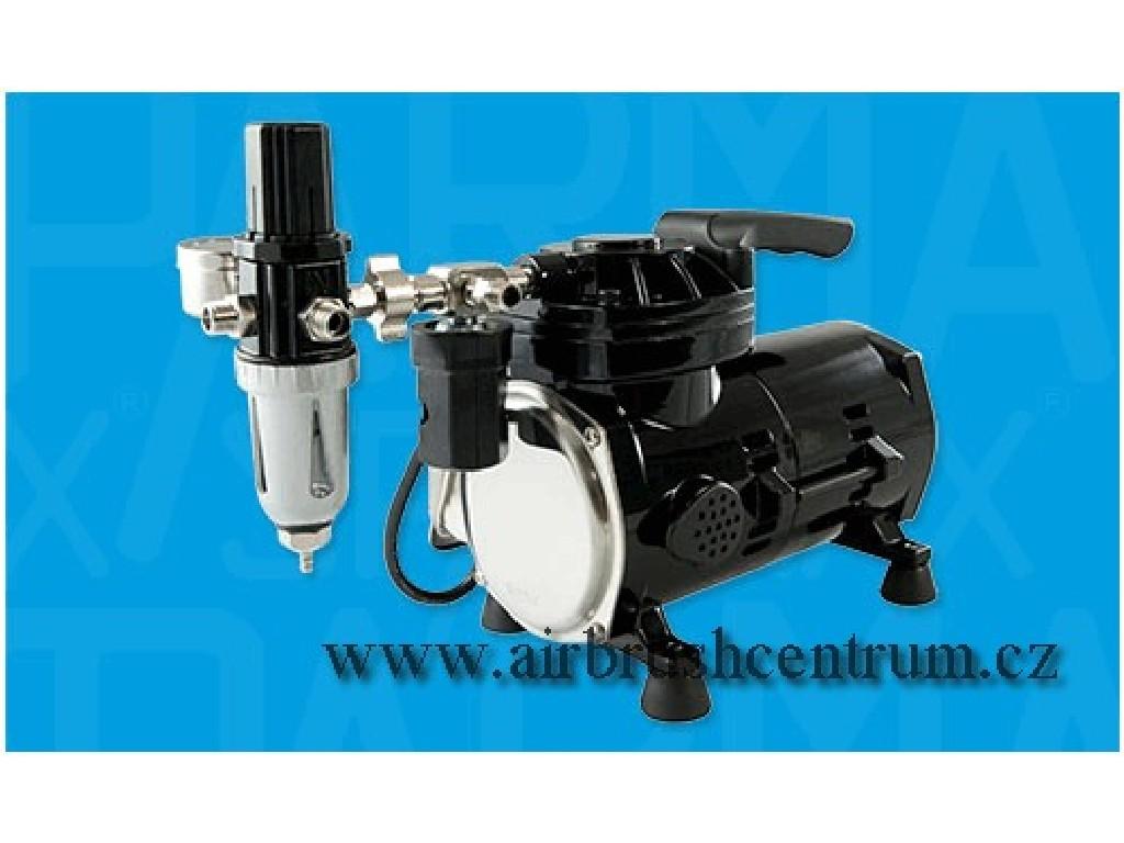 Jednopístový hobby kompresor Sparmax TC-501N, black