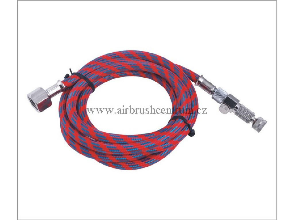 Hadice s rychlospojkou a jemnou regulací vzduchu - 3m