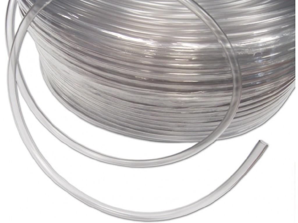 Transparentní  PVC hadice 4x6