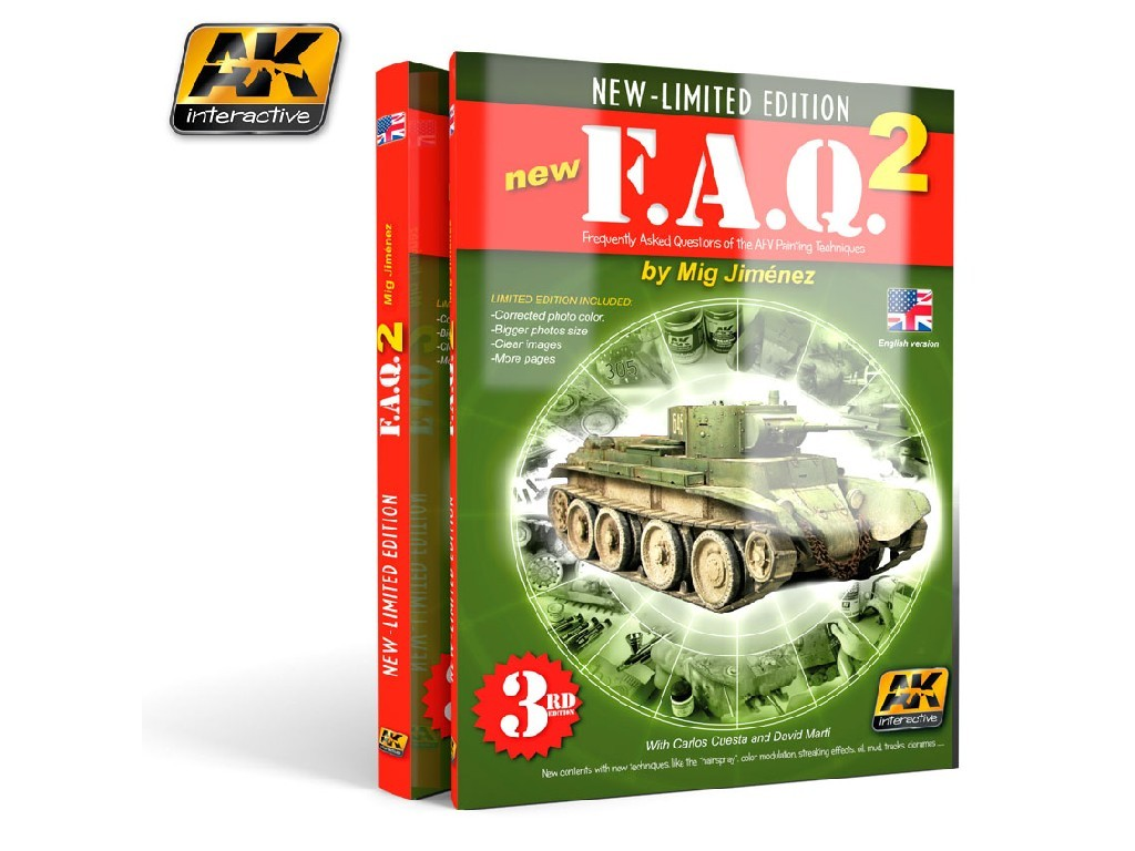 AK Interactive - Faq Vol.2 - English 4Th Edition