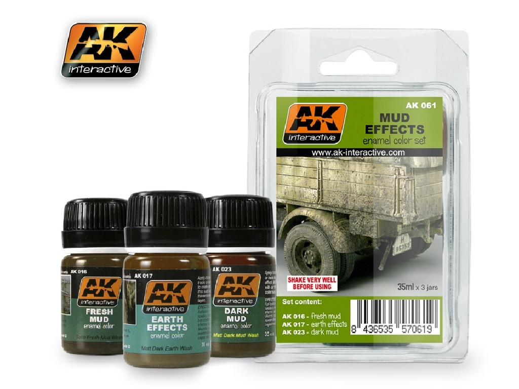 AK Interactive - Mud Set