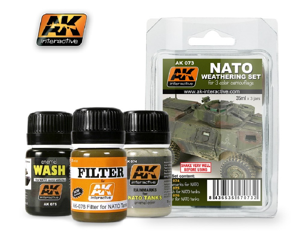 AK Interactive - NATO Weathering Set