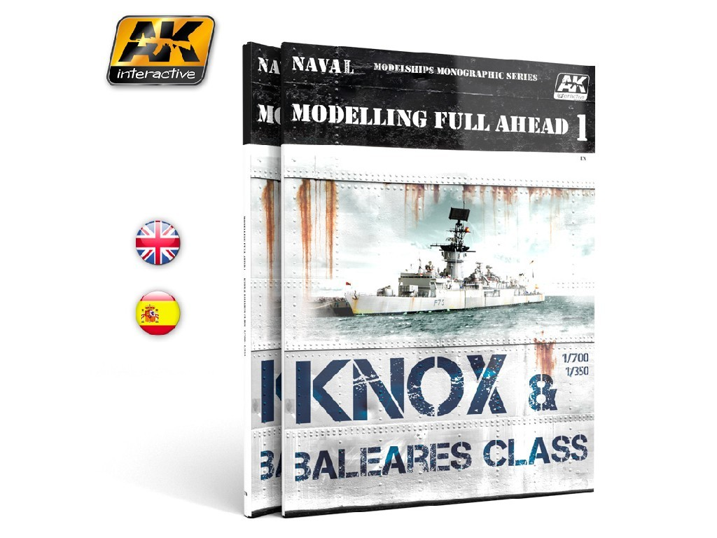 AK Interactive - Modelling Full Ahead 1 (English)