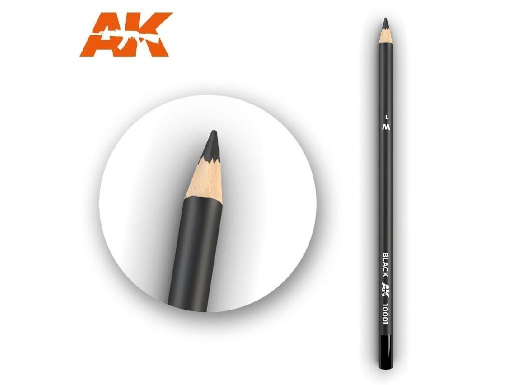 AK Akvarelová tužka na odřeniny - Black