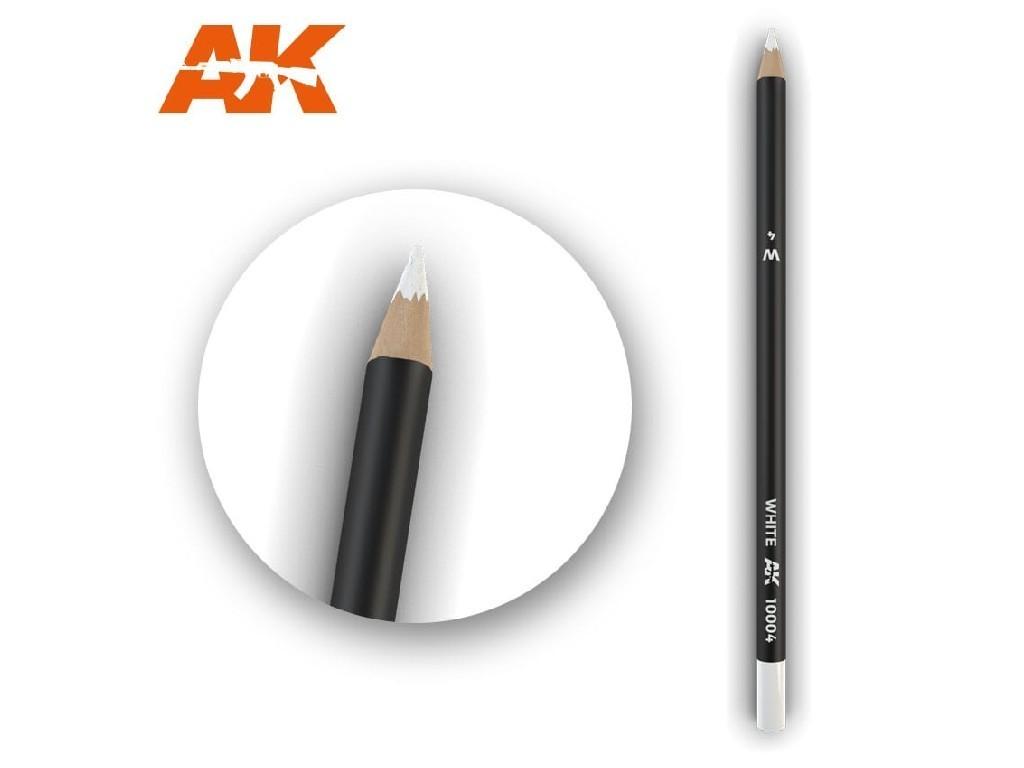 AK Akvarelová tužka na odřeniny - White