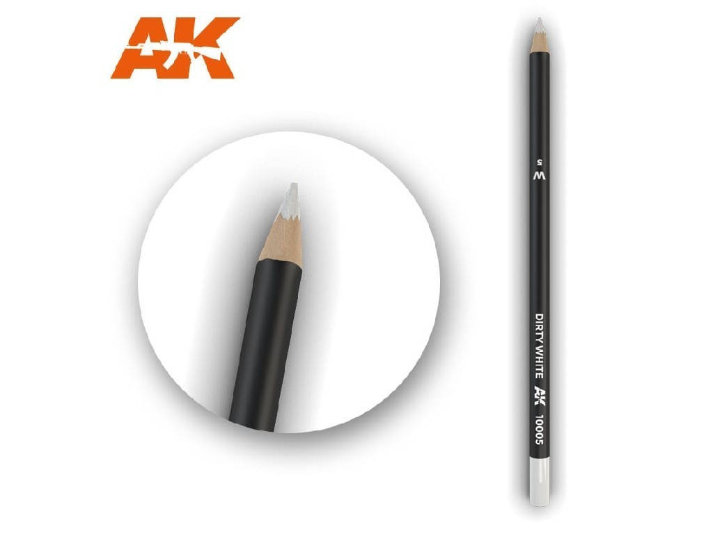 AK Interactive - AK10005 - Akvarelová tužka na odřeniny - Dirty White