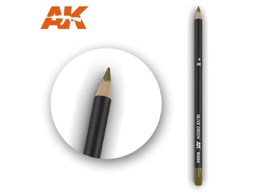 AK Akvarelová tužka na odřeniny - Olive Green