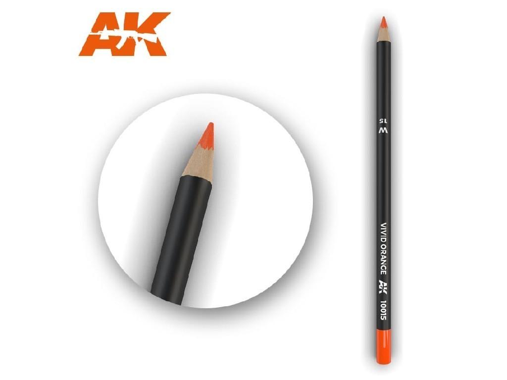 AK Interactive - AK10015 - Akvarelová tužka na odřeniny - Vivid Orange