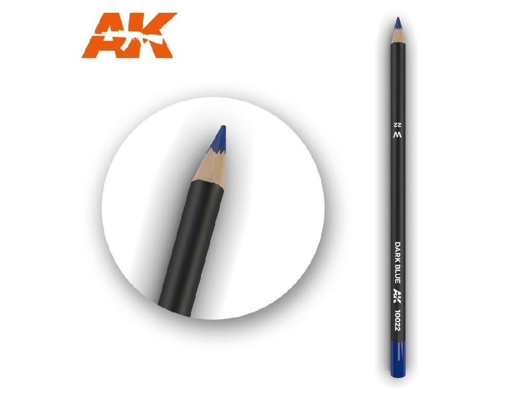 AK Interactive - AK10022 - Akvarelová tužka na odřeniny - Dark Blue