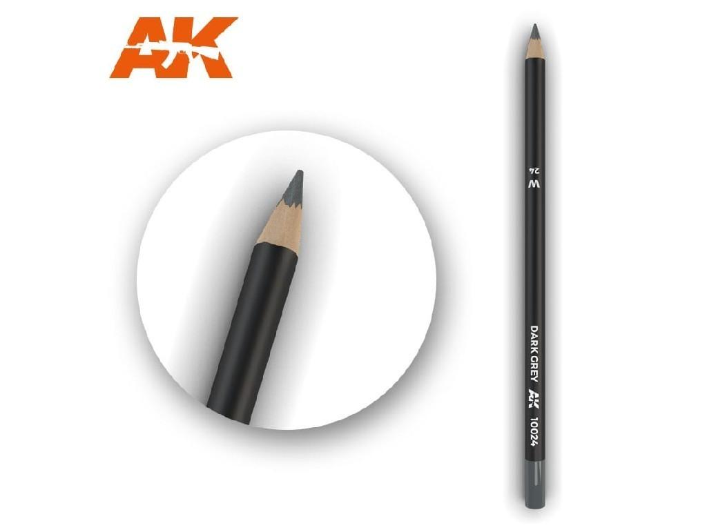 AK Interactive - AK10024 - Akvarelová tužka na odřeniny - Dark Grey
