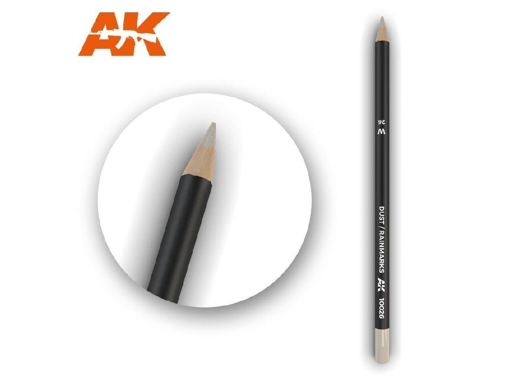 AK Akvarelová tužka na odřeniny - Dust-Rainmarks