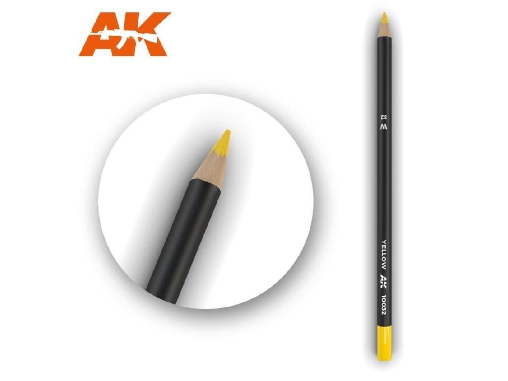 AK Akvarelová tužka na odřeniny - Yellow