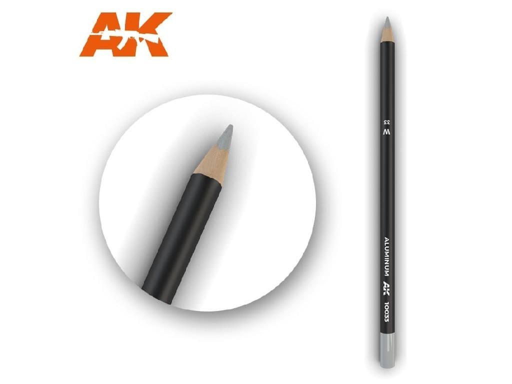 AK Akvarelová tužka na odřeniny - Aluminum