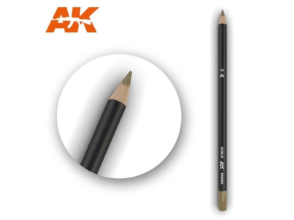 AK Akvarelová tužka na odřeniny - Gold