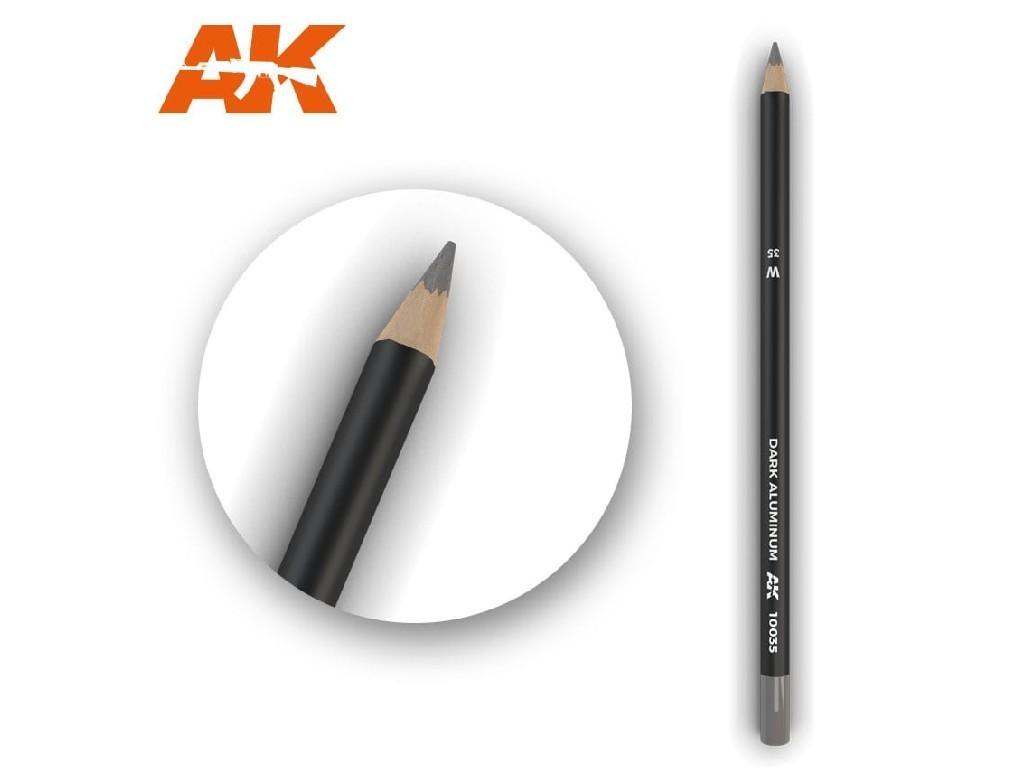 AK Akvarelová tužka na odřeniny - Dark Aluminum Nickel