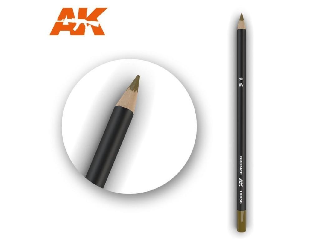 AK Akvarelová tužka na odřeniny - Bronze
