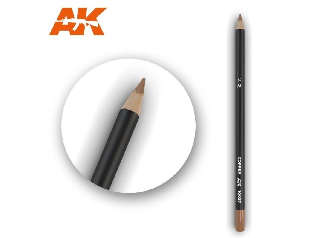 AK Akvarelová tužka na odřeniny - Copper