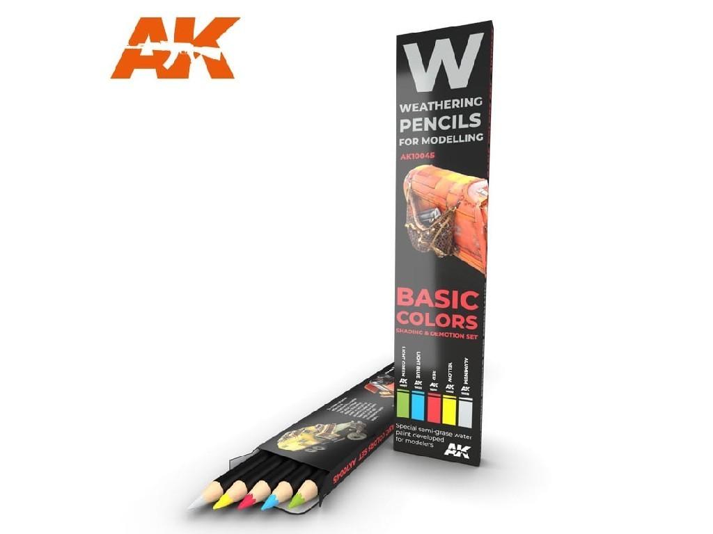 AK Set akvarelových tužek na odřeniny - Basic
