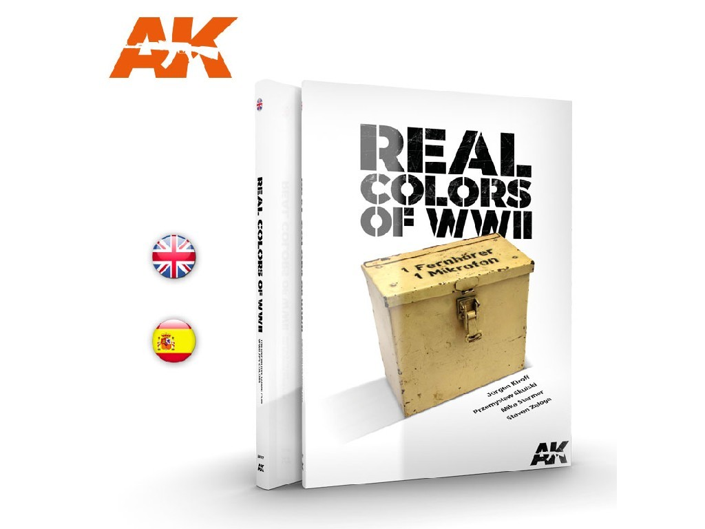 AK Interactive - WWII Real Colors EN