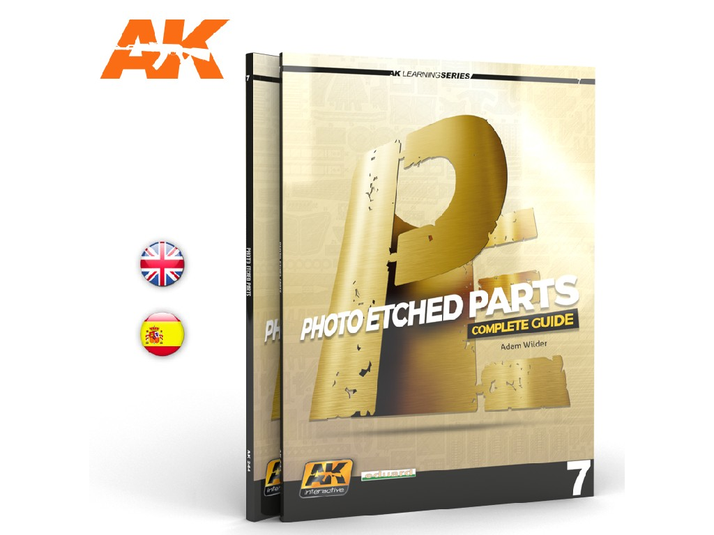 AK Knihy - Photoetch Parts (AK Learning Series No7) English