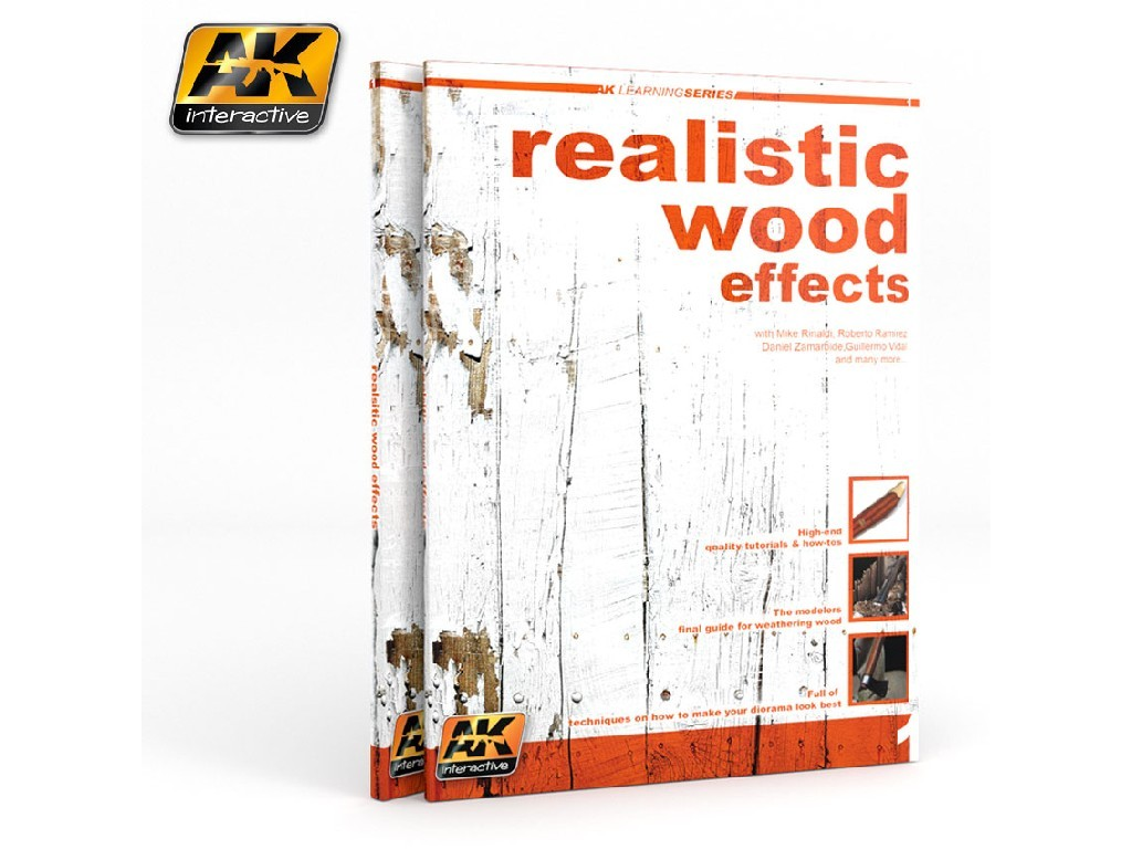 AK Interactive - Realistic Wood Effects Improved Ed. (Ak Learning Series No1)