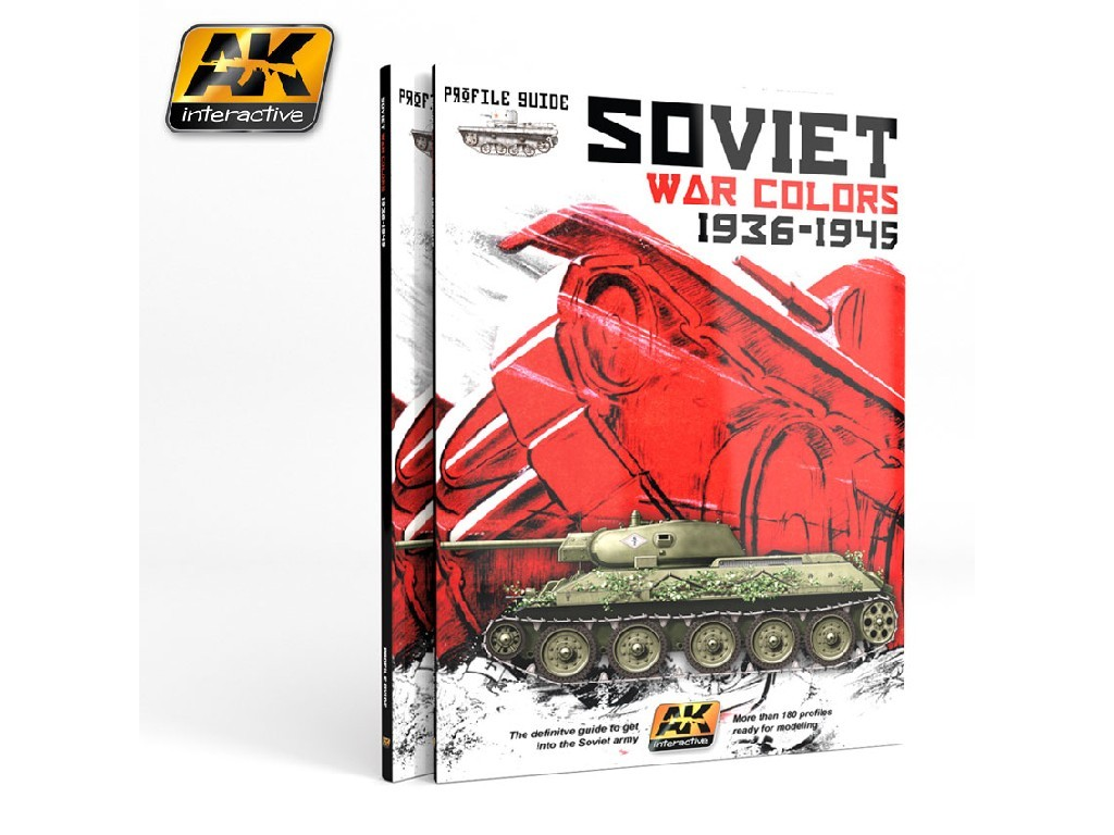 AK Interactive - Soviet War Colors Profile Guide
