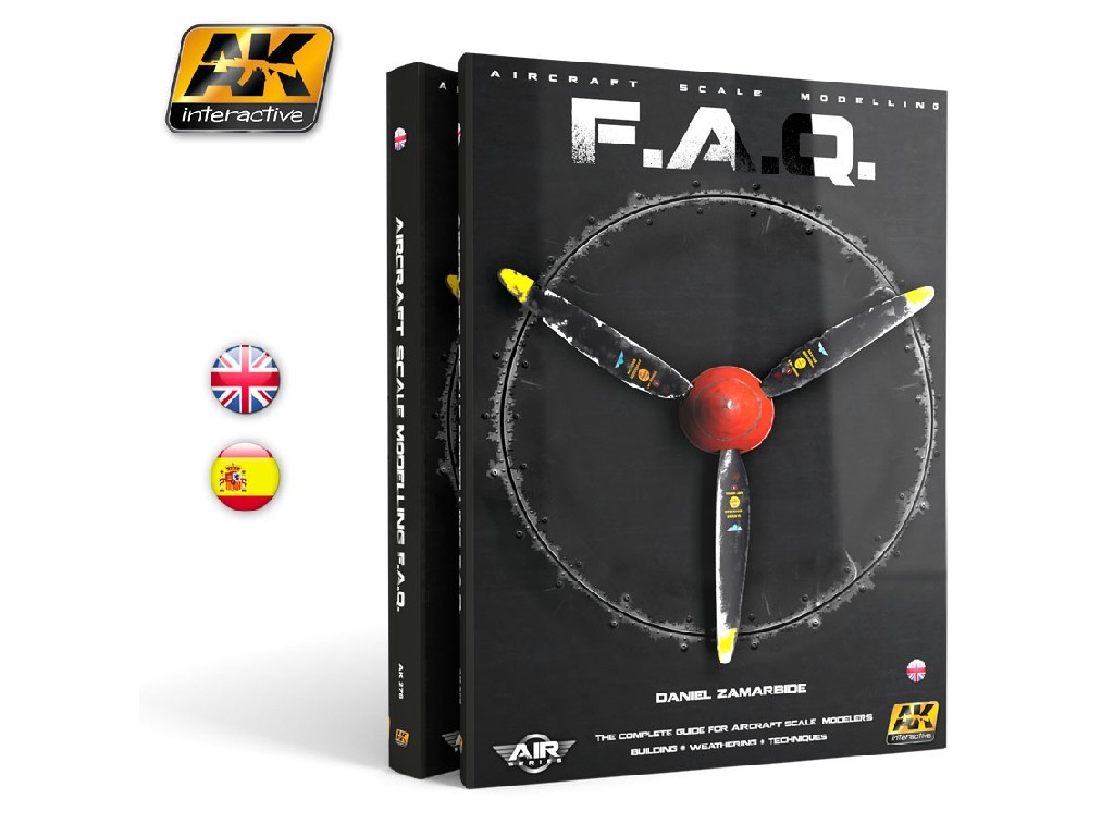 AK Interactive - Aircraft Scale Modelling F.A.Q. - English 3rd Edition