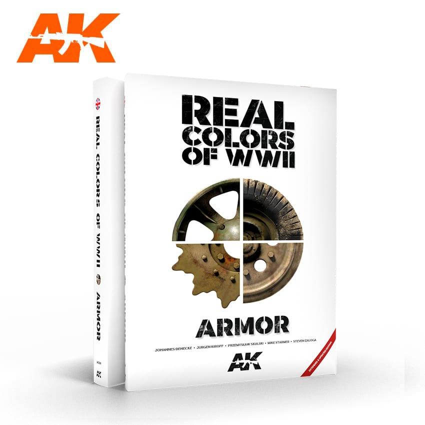 AK Interactive - WWII Real Colors EN - nová 2. rozšířená a aktualizovaná verze