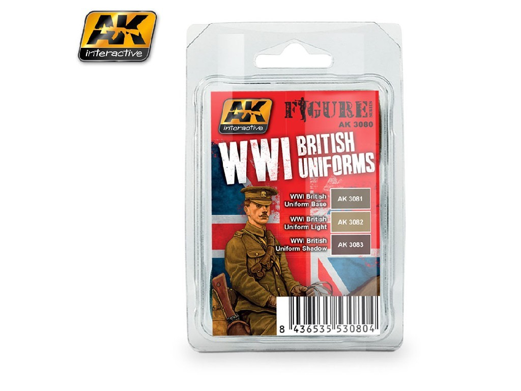 AK Interactive - WWI British Uniforms