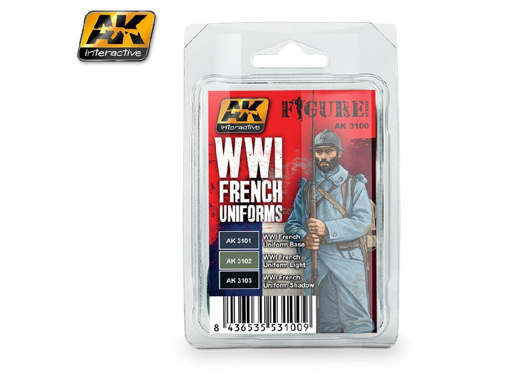 AK Interactive - WWI French Uniforms