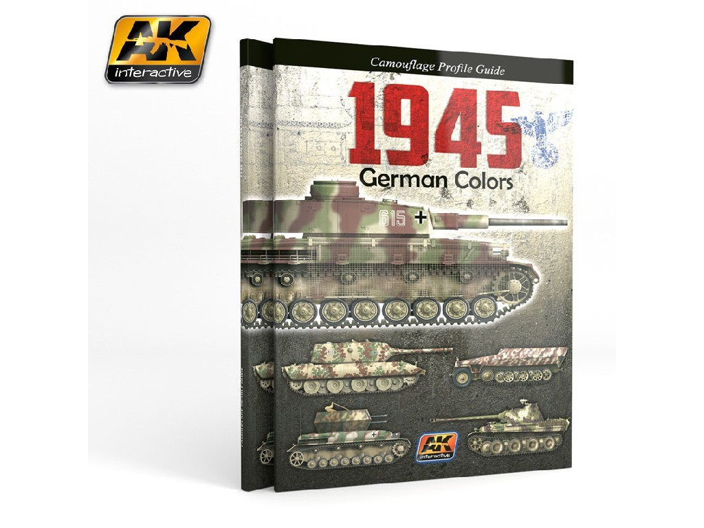 AK Interactive - 1945 German Colors Profile Guide