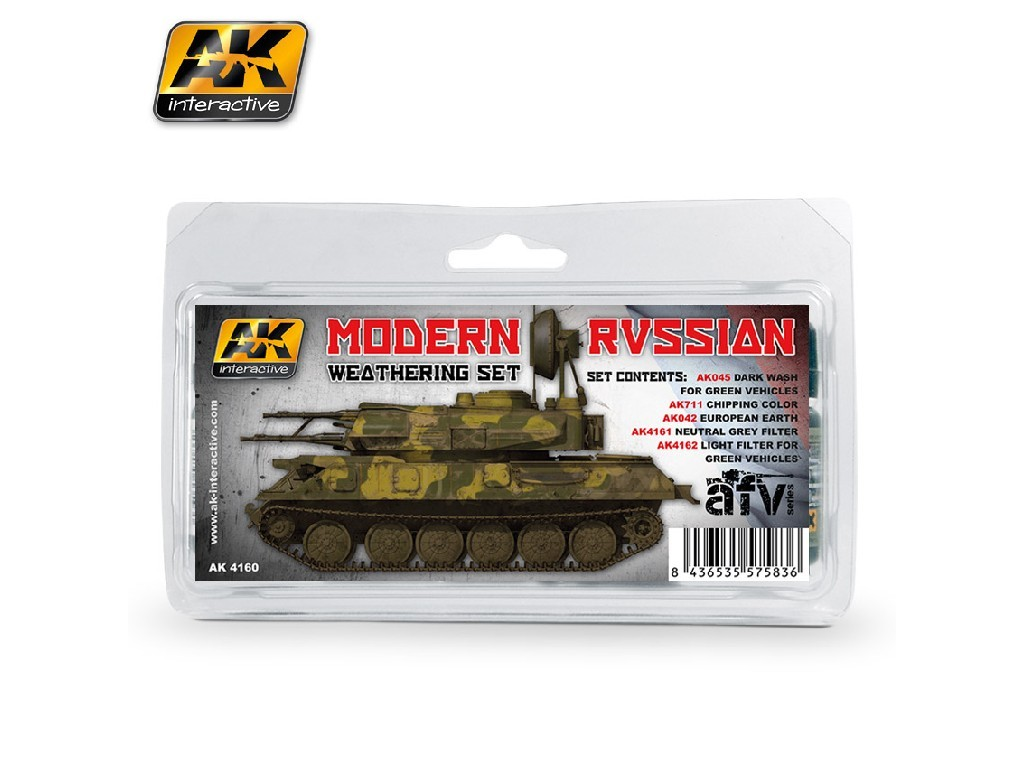 AK Interactive - Modern Russian Weathering Set