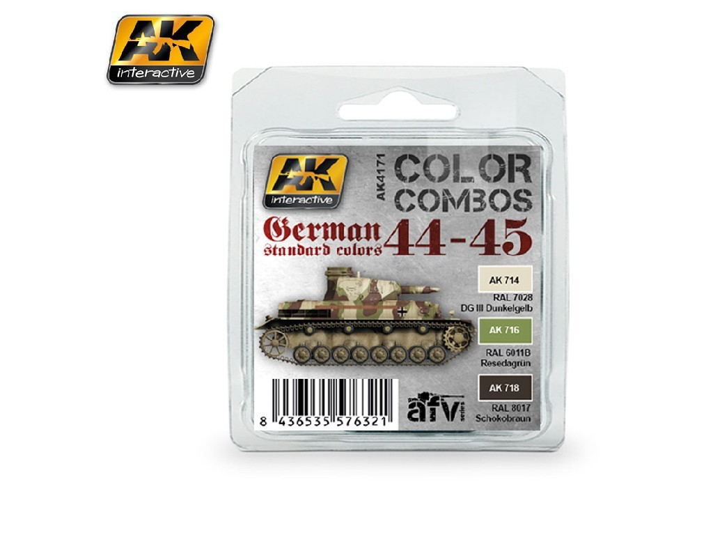 AK Interactive - German Standard 44-45 Color Combo