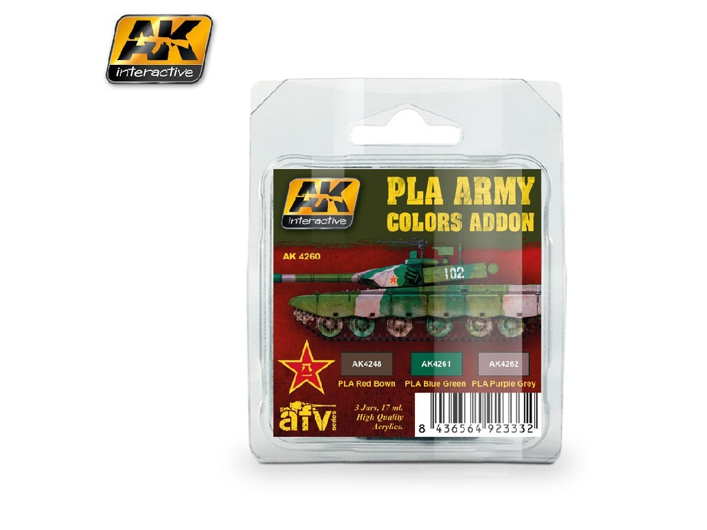 AK Interactive - PLA Army Colors Addon
