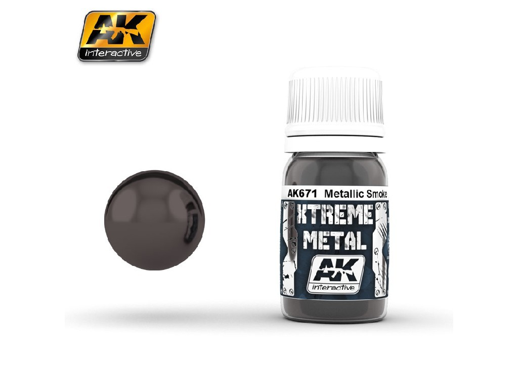 AK Interactive - Xtreme Metal Black Base