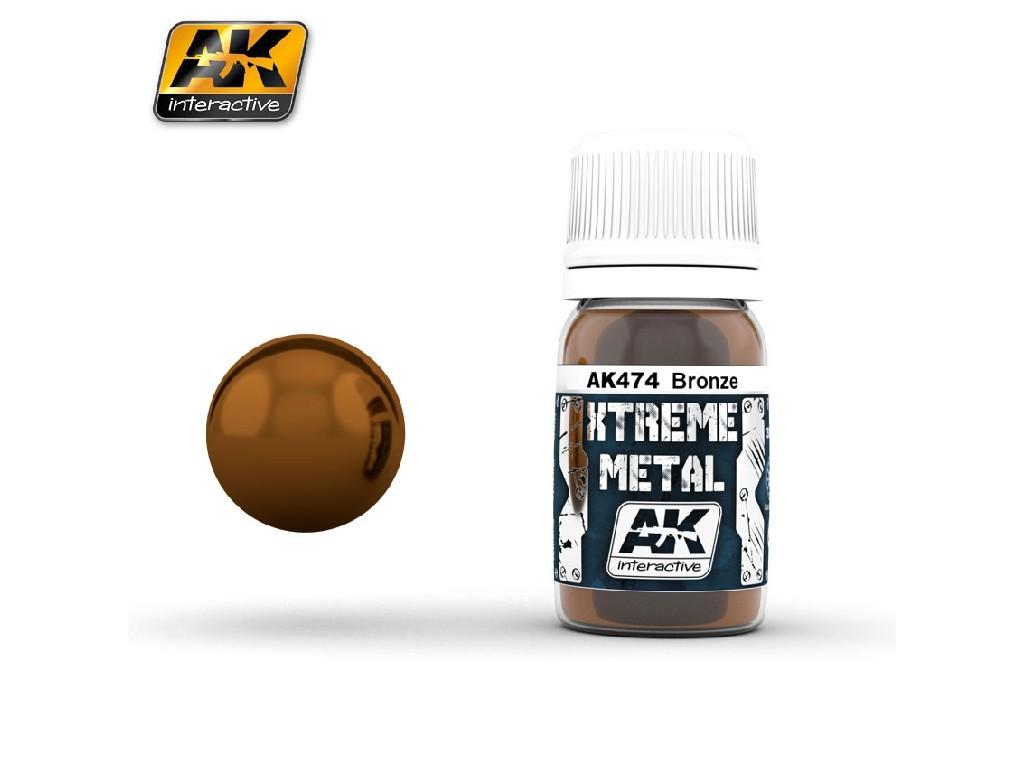 AK Interactive - Xtreme Metal Bronze