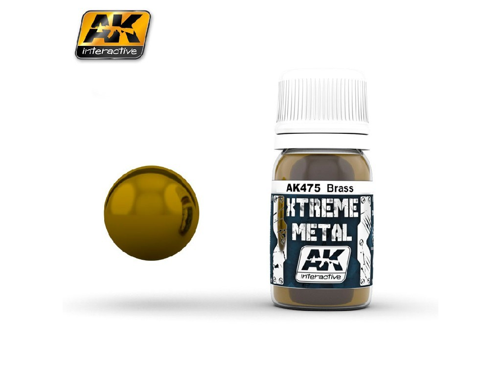 AK Interactive - Xtreme Metal Brass