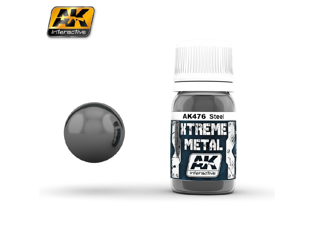 AK Interactive - Xtreme Metal Steel