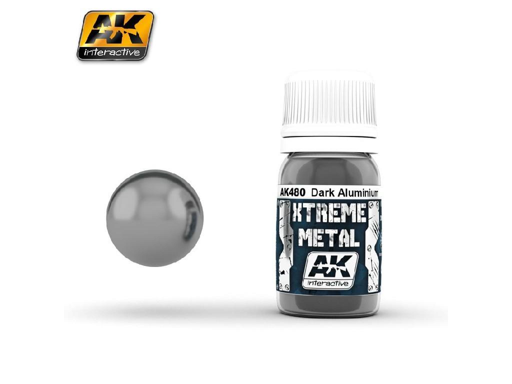 AK Interactive - Xtreme Metal Dark Aluminium