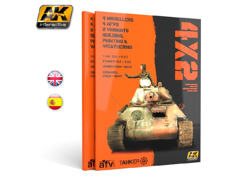 AK Interactive - 4X2 - English