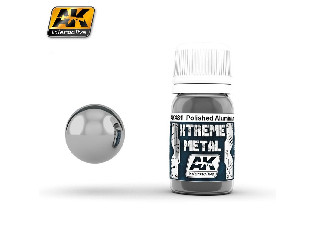 AK Interactive - Xtreme Metal Polished Aluminium