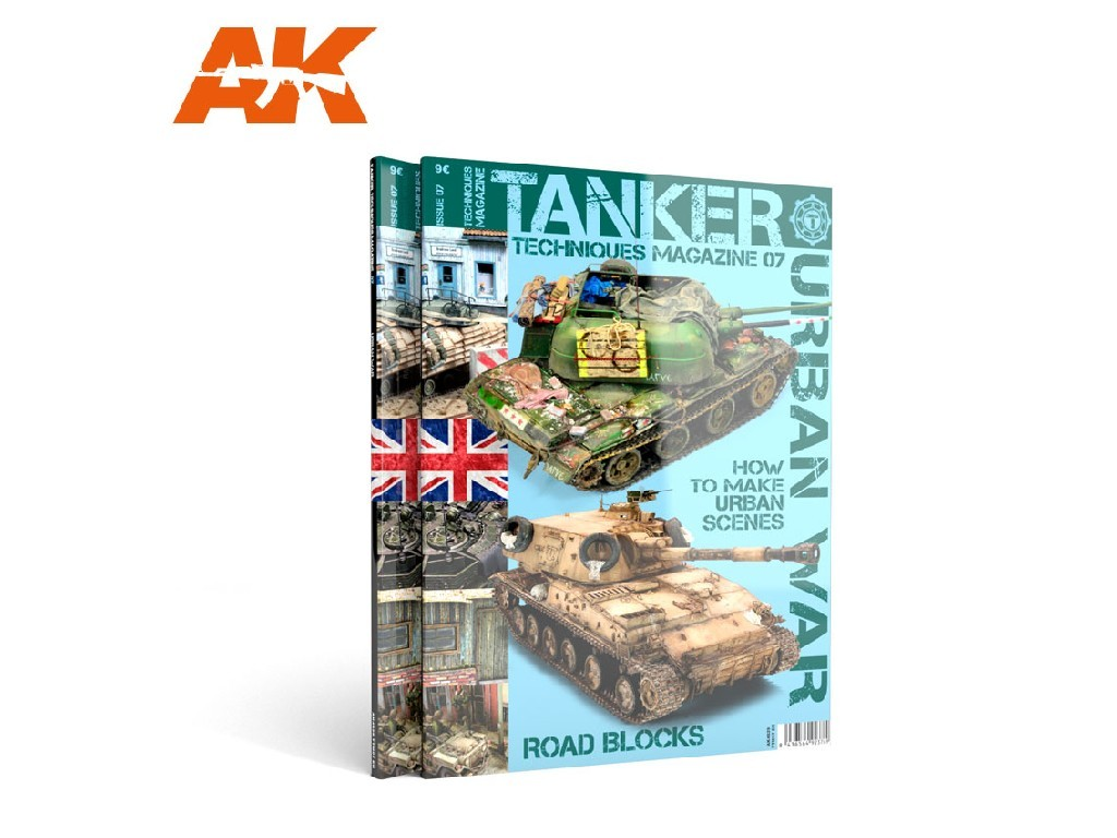 AK Interactive - Tanker 07 Urban War - English