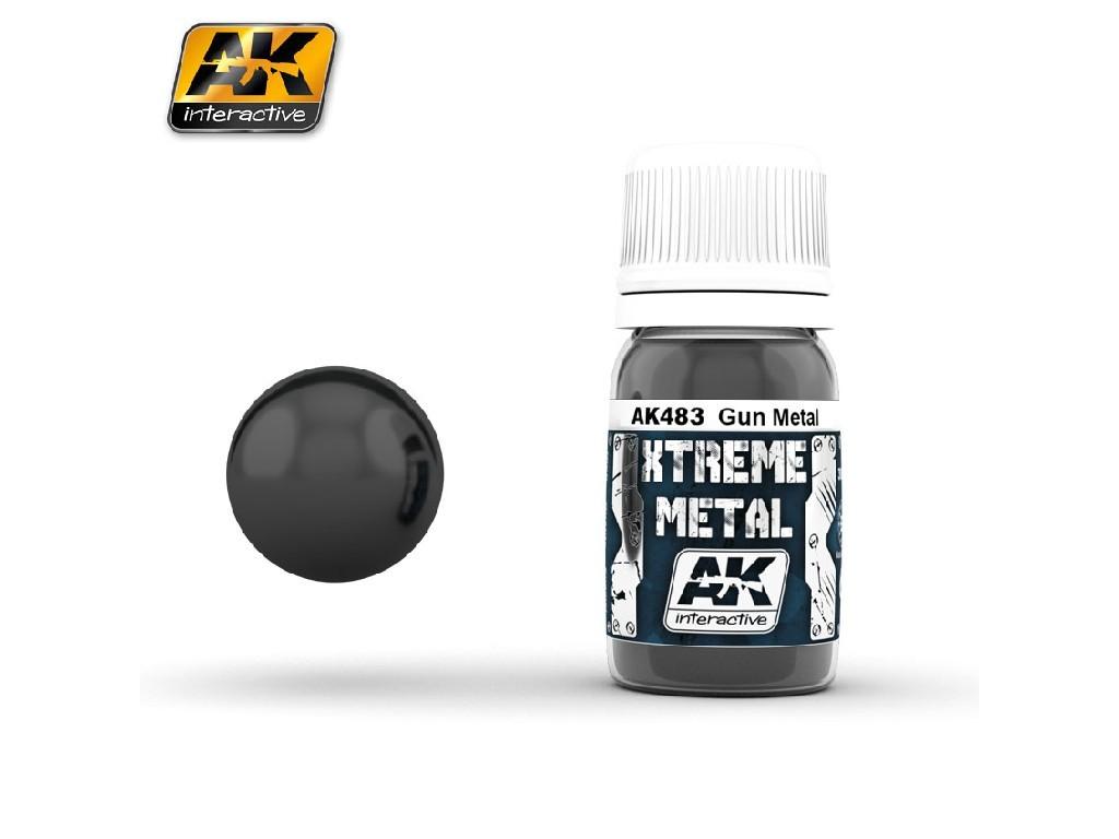AK Interactive - Xtreme Metal Gun Metal
