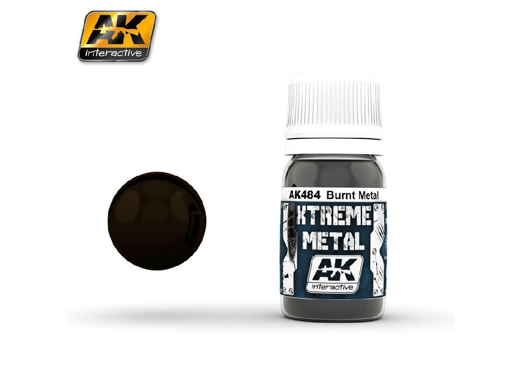 AK Interactive - Xtreme Metal Burnt Metal