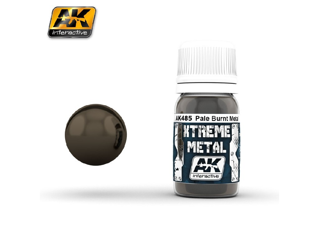 AK Interactive - Xtreme Metal Pale Burnt Metal