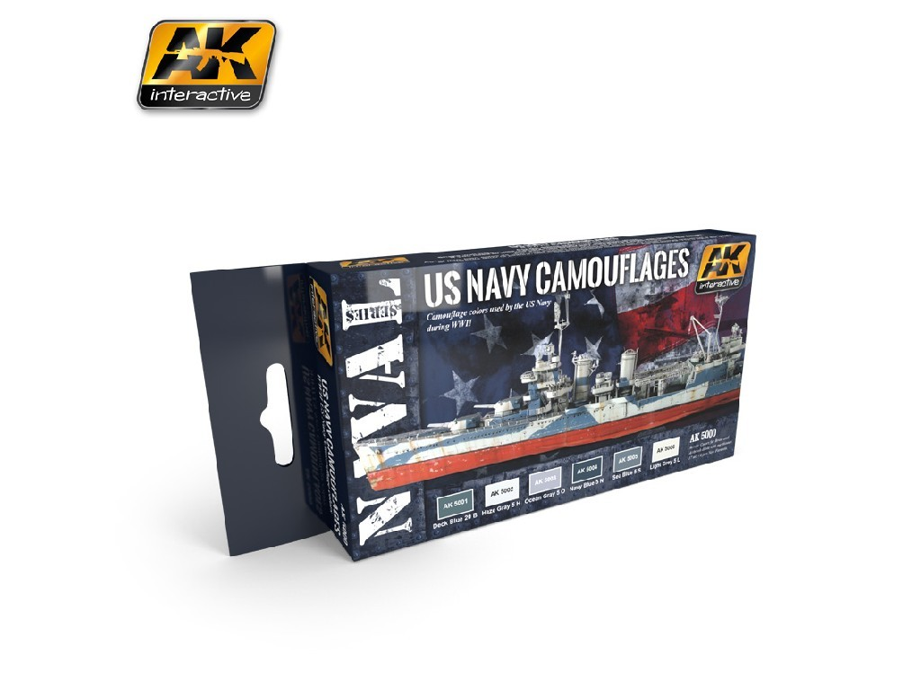 AK Interactive - US Navy Camouflages
