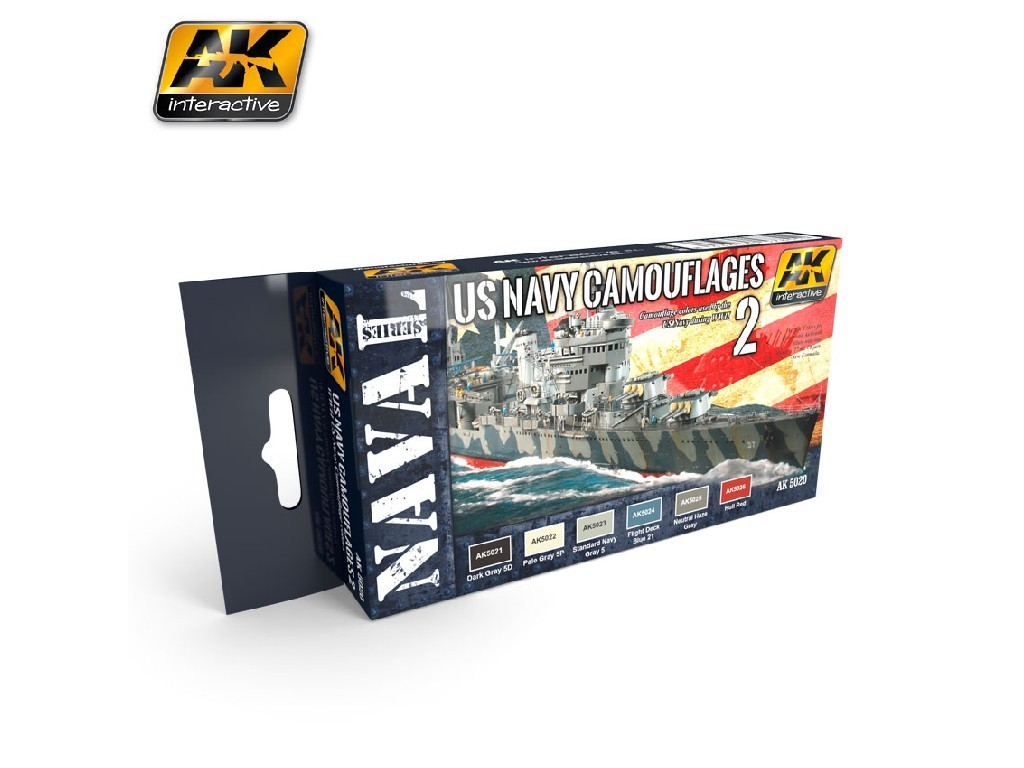 AK Interactive - US Navy Camouflage Vol. 2