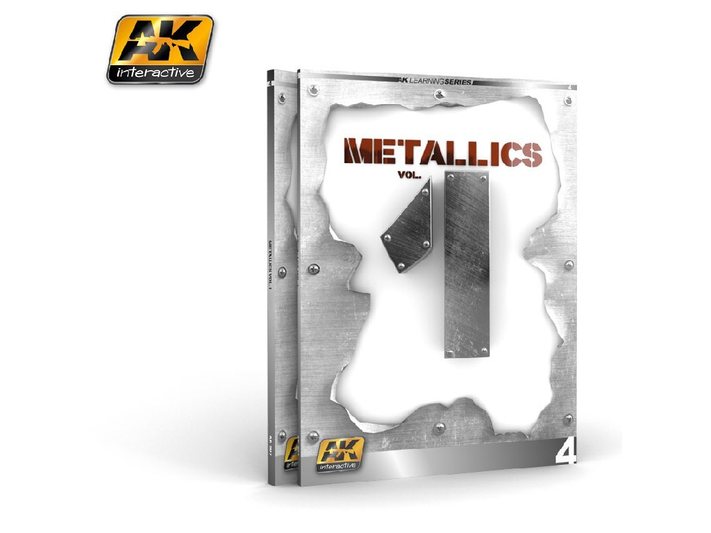 AK Interactive - Metallics vol 1 (AK Learning Series No4)