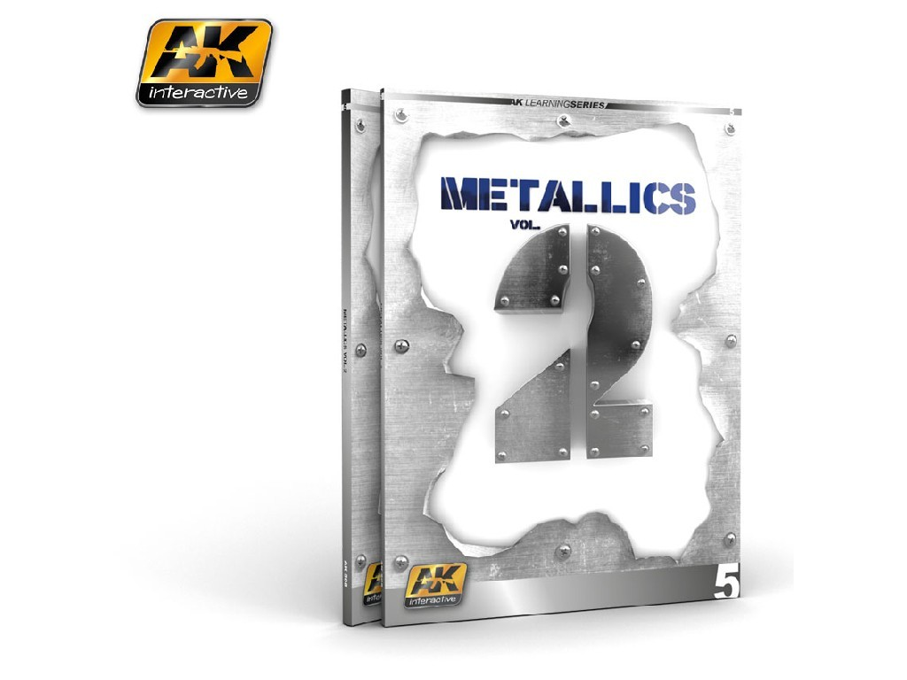 AK Interactive - Metallics vol 2 (AK Learning Series No5)